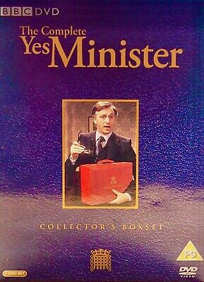 Yes Minister - Series1-3 - Complete (DVD, 2004) • 4£