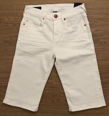 BNWT Men's True Religion Denim Shorts. Rocco Skinny Fit. Waist 27. RRP £149 • 75£