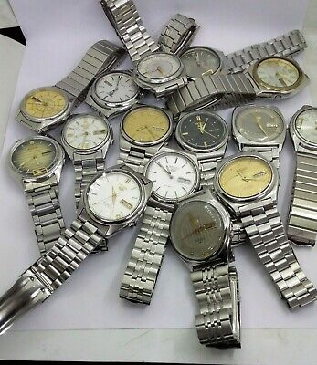 $ CDN4290.39 • Buy Lot Of 30 Seiko Used Watches And 30 Rado Diastar Antique Watches - Free Shipping