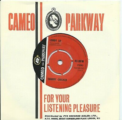 Chubby Checker:Loddy Lo/Hooka Tooka:Cameo Parkway:UK 1963 • 7£