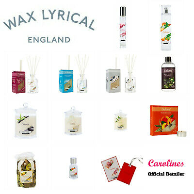 Wax Lyrical Colony Range - Reed Diffuser - Refill - Candle - Room Spray • 4.99£