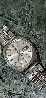 $ CDN88.94 • Buy Vintage 1977's Seiko 5 Sportsmatic 6119-7020 Day-Date 21 Jewels Automatic Watch
