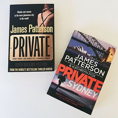 AU27.95 • Buy 2 X James Patterson Private Series Paperback / Private + Private Sydney