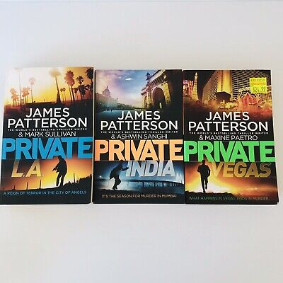 AU30 • Buy 3 X James Patterson Private Series Books - Paperback - FREE POST