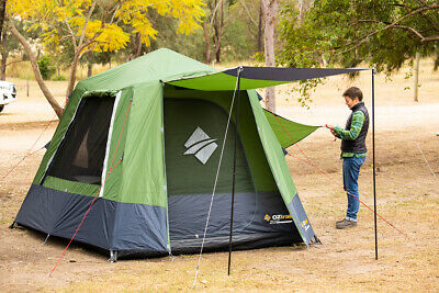 AU225 • Buy Oztrail Fast Frame 4p Instant Up Tent 4 Man Person Pop Up Turbo Tent