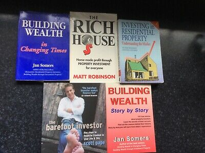 AU12 • Buy 5 Investment Books, Barefoot Investor, Building Wealth, Investing In Residential