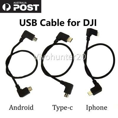 AU10.95 • Buy Transfer Cable Cord RC Drone USB OTG FOR DJI Spark Mavic Pro Remote Cable Data