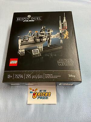 AU249.99 • Buy Lego Star Wars Exclusive 75294 Bespin Duel New/Sealed/Retired/H2F/BoxesHaveWear
