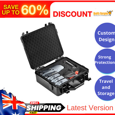 AU107.36 • Buy Hard Carrying Case DJI Mavic Pro Platinum Waterproof Strong Protection Storage