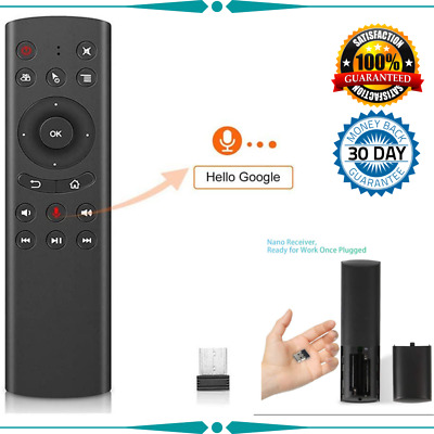 AU36.62 • Buy Remote Voice Control Tv Wireless WeChip G20 Sensing Air Remote Mouse