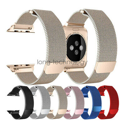 AU18.99 • Buy Milanese Loop Mesh Stainless Steel Watch Band For Apple Watch 5 4 3 2 40/44mm