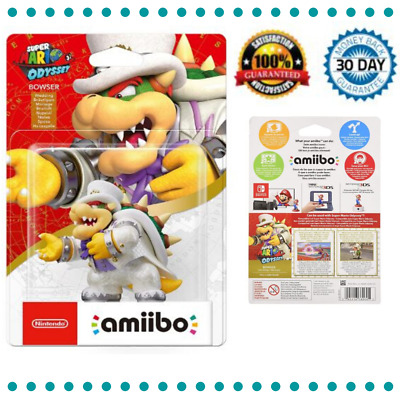 AU30.18 • Buy Nintendo Amiibo Character Bowser Odyssey Collection Ages 6+