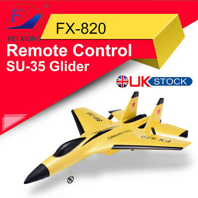 SU-35 RC Remote Control Aircraft Airplane Helicopter EPP Foam Plane Toy Gift G6 • 25.86£