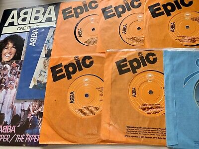 Abba Vinyl Records - Singles Collection - 45's - Job Lot - FREE Post & Packaging • 14.75£