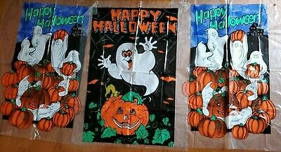 $ CDN26.42 • Buy Lot 3 Vintage 1990s Halloween Decorations Rare Pamphlet Outdoor Indoor Yard Sign