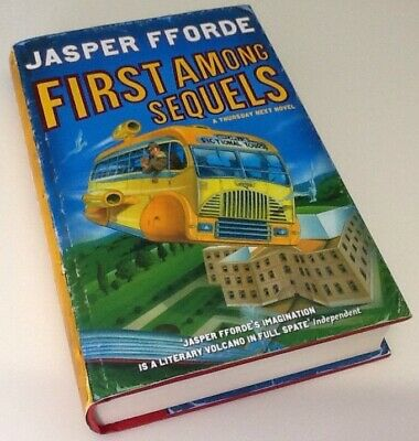 Jasper Fforde First Among Sequels Book • 7.50£