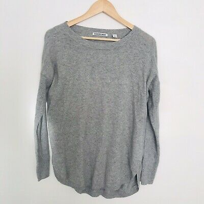 AU29.95 • Buy Country Road Women's Sz M Grey Wool Blend Knit Top