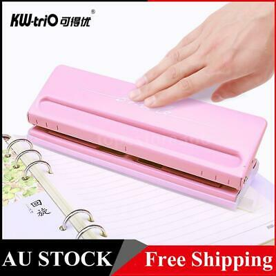 AU26.50 • Buy KW-trio Adjustable 6-Hole Desktop Punch Puncher For A4 A5 A6 B7 Dairy Planner AU
