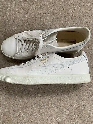 Puma Clyde Trainers Size 11 In Off White Colour • 20£
