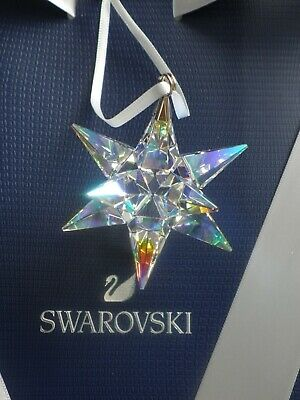 Swarovski Irridescent 3D Star Ornament [5283480]  ~  Brand New In Box • 49.99£