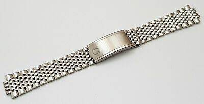 New 18mm Bead Of Rice Solid Stainless Steel Gents Watch Strap For Omega No Lugs • 29.99£
