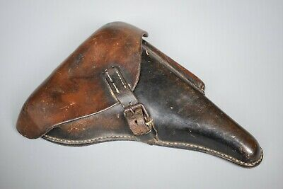 WWII German P08 Luger Leather Holster Accessory Original WW2 Equipment 1941 • 345£