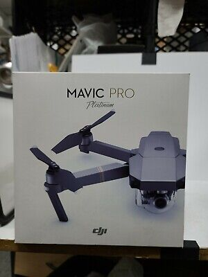 AU1252.89 • Buy Dji Mavic Pro Platinum Drone (Open Box)