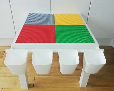 £37 • Buy New Lego & Duplo Compatible Table With Storage Collect WF3