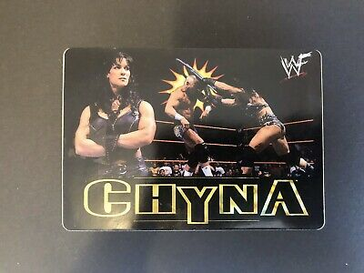 $ CDN3 • Buy 2000 WWF Chyna The Ninth Wonder Of The World Decal Sticker