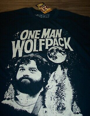 £14.54 • Buy THE HANGOVER One Man Wolfpack T-Shirt MEDIUM NEW W/ Tag
