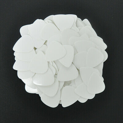 $ CDN12.72 • Buy Lots Of 100 Pcs 0.46mm Thin Celluloid Classic 351 Guitar Picks Solid White Blank