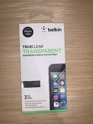 AU15 • Buy Belkin Trueclear Transparent Screen Protector For IPhone 6/6s Brand New