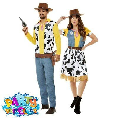 Adult Western Cowboy Costume Woody Jessie World Book Day Fancy Dress Outfit  • 25.99£