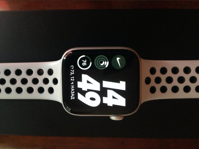 $ CDN416.66 • Buy Apple Watch Series 4 Nike+ 44 Mm Silver Aluminum Case With Pure...