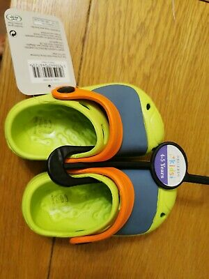 Brier Boys Girls Kids Comfy Clogs Wellington Wellie Rain Shoes  EU 21 UK 4 New • 7.75£