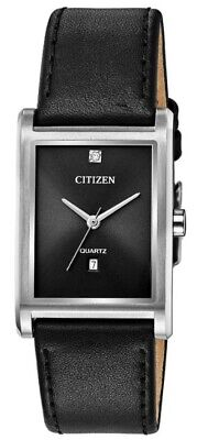 $ CDN46.83 • Buy Citizen Men's Quartz Diamond Accent Date Display 27mm Watch BH3001-14H