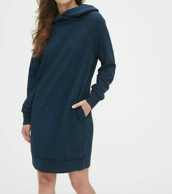 $ CDN25.36 • Buy GAP Supersoft Terry Raglan Hoodie Dress #51957-3
