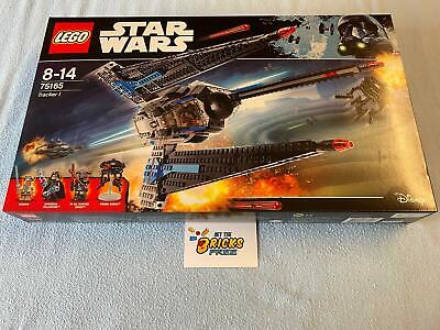 AU169.99 • Buy Lego Star Wars 75185 Tracker 1 New/Sealed/Retired/Hard To Find/Boxes Have Wear