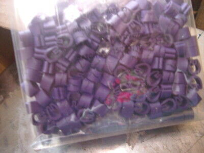 £1 • Buy Z-Type Cable Markers Size 23  - VIOLET No. 7 - Packets Of 100