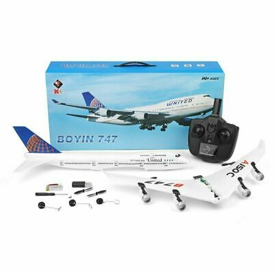 £52.99 • Buy XK A150 Airbus B747 Model Plane RC Fixed-wing 2CH EPP 2.4G Remote Control Gyro