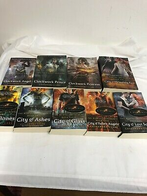 Cassandra Clare 9 X Books The  Mortal Instruments /the Infernal Devices • 30£
