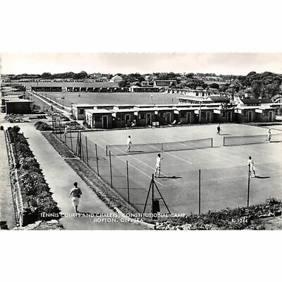 Hopton-on-Sea Constitutional Holiday Camp Tennis Great Yarmouth Postcard Norfolk • 2.99£