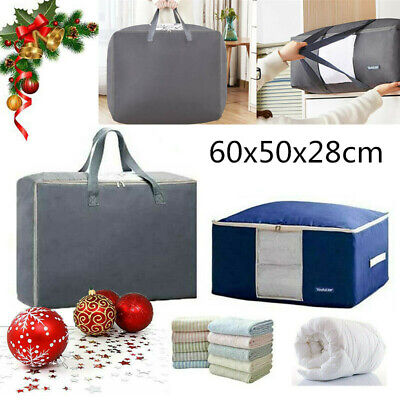 Christmas Decoration Storage Bag Lights Zip Up Sack Tree Bauble Ornament Handle • 7.98£