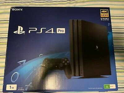 AU500 • Buy Sony PlayStation 4 Pro 1TB Console + Platinum Headset + 2 Controllers + 3 Games