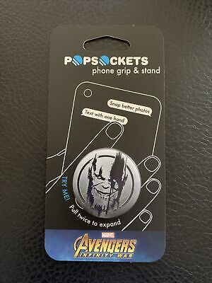 AU11.02 • Buy Popsockets Marvel Avengers Infinity War Thanos Cell Phone Grip & Stand