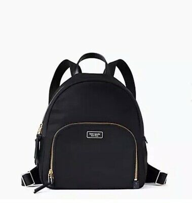AU129.36 • Buy NWT Kate Spade Dawn Medium Nylon Backpack - Black
