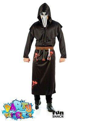 £14.99 • Buy Adult Mens Plague Doctor Costume Halloween Horror Fancy Dress Outfit