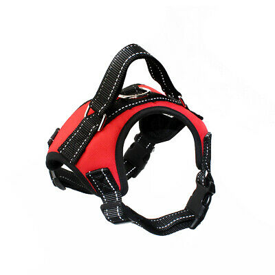 £7.49 • Buy Dog Harness Adjustable - Reflective - Safe - Non Pull - Collar - Lead -UK Seller