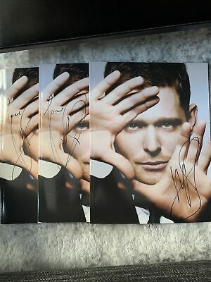 £34.69 • Buy Michael Buble Crazy Love Signed Promo Book