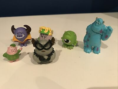 Bundle Disney Figures Cake Topper Monsters Inc University MINI Sully ROS Mike • 5.95£
